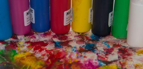 paint color multi color