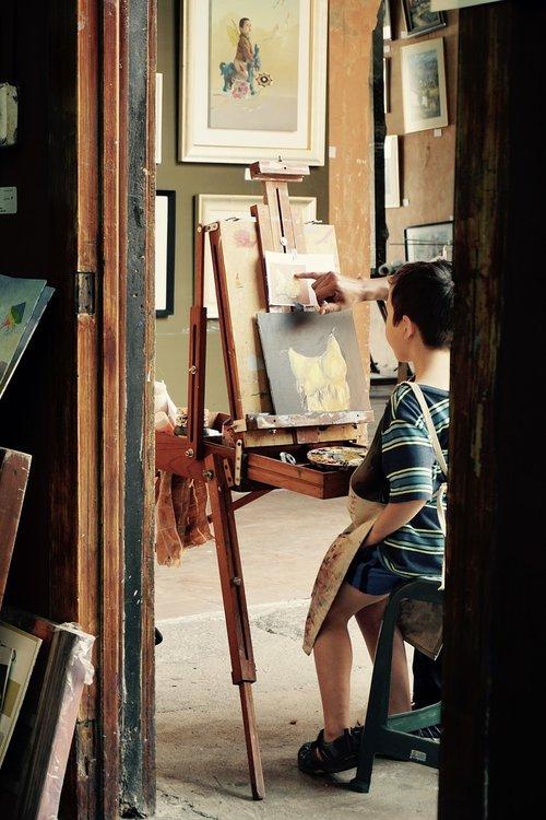 paint  painting class  acrylic