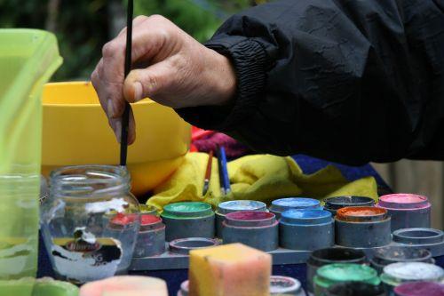 paint dye painting