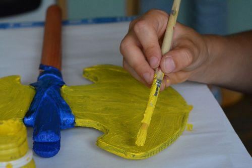 paint painting pencil