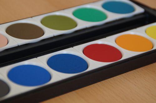 paint boxes watercolor color palette