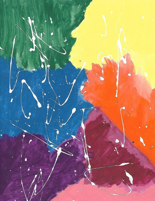 paint splatter paint creative