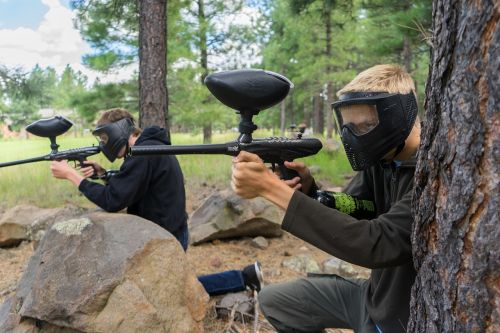paintball recreation game