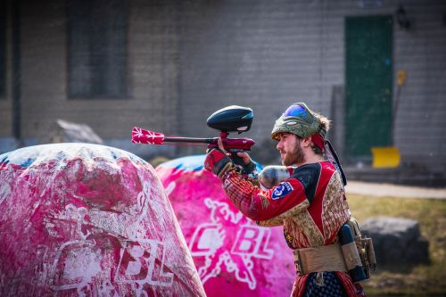 paintball dirty paint