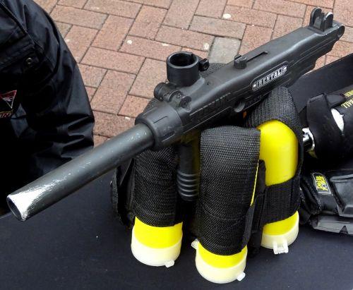 Paintball Game Gun