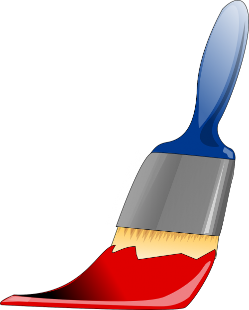 paintbrush tool painting