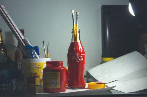 paintbrushes art supplies