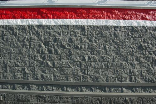 painted block wall texture background