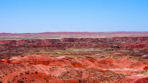 painted desert arizona landscape