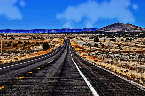 Painted Route 66