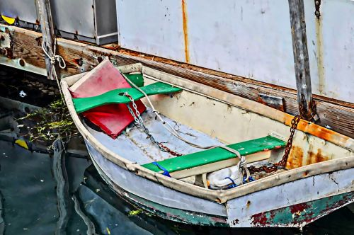 Painted Rowboat