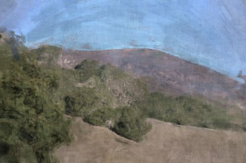 Painted Sketch Hills