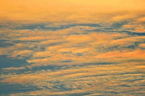 Painted Sunset Streaks
