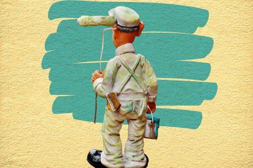 painter delete hauswand
