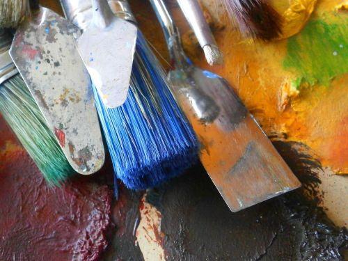 painter brushes paintbrushes