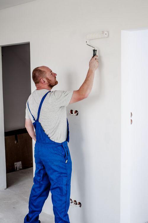painter painting employee