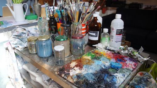 painting paint hobby