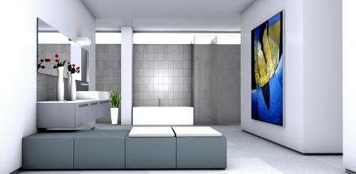 bathroom painting gallery