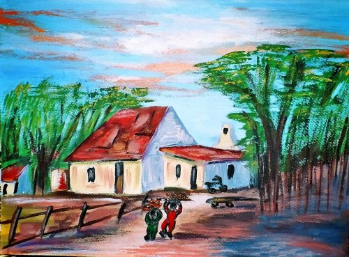 painting art work acrylic paint