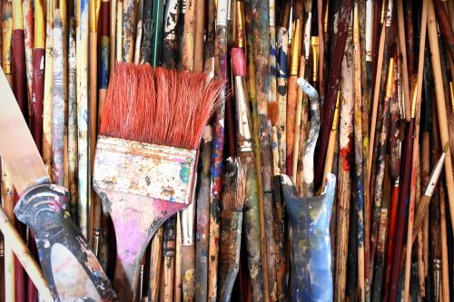 painting dye brush