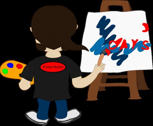 painting artist brushstroke