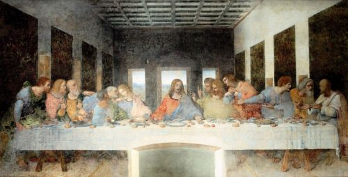 painting last supper artwork