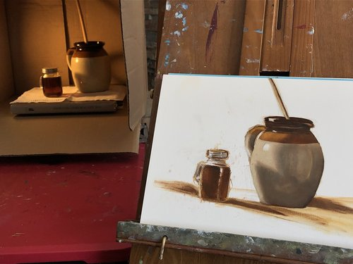 painting  oils  canvas