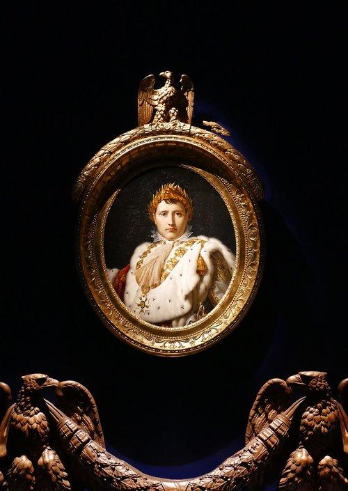 painting  medallion  napoleon