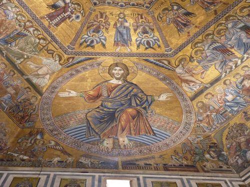 painting mosaic florence