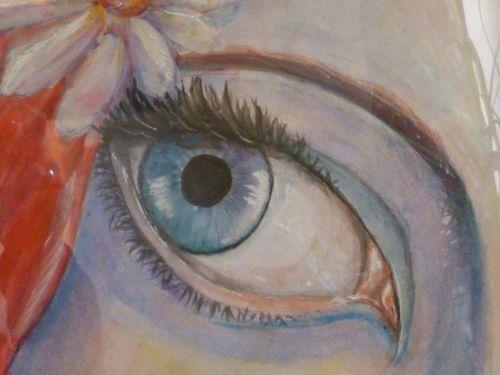 painting eye art
