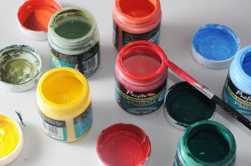 painting colors pigments