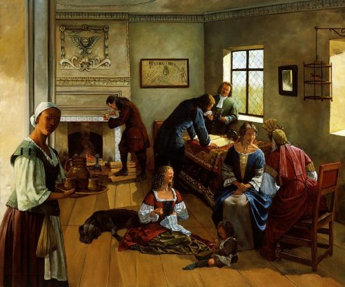 painting art 1690s