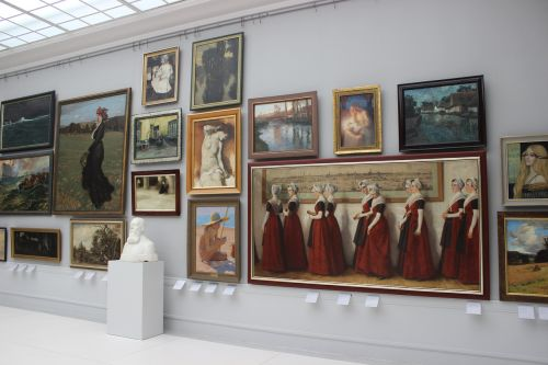 painting picture gallery works of art