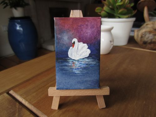painting canvas easel