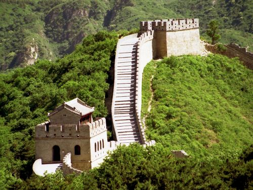 Painting Of Great Wall Of China