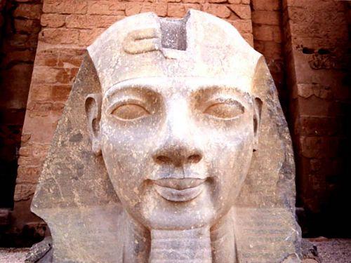 Painting Of Ramses II
