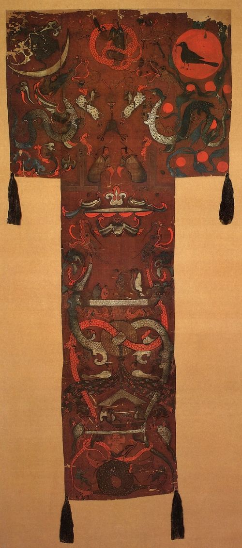 paintings on silk in han dynasty china