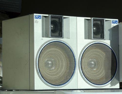 Pair Of Stereo Speakers