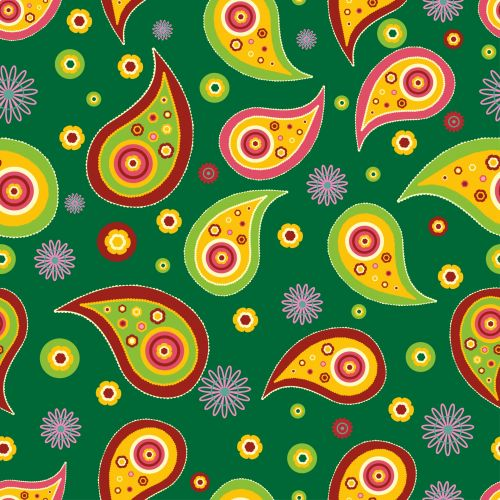 Paisley Pattern Seamless Wallpaper
