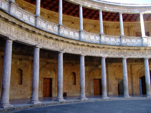 palace architecture granada