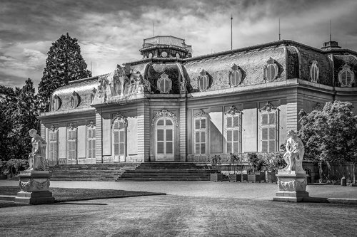palace  benrath  dusseldorf
