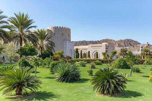 palace  sultan  oman