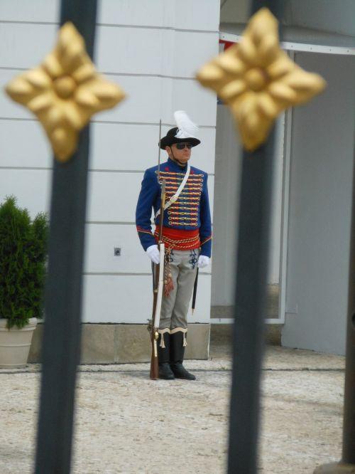 palace castle guard