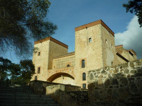 rūmai,renesansas,mudejar,architektūra,torres,galia,muziejus,kunigaikščiai,pastatas,senas,gyvenamasis namas