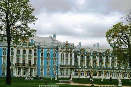 Palace At Tsarskoe Selo