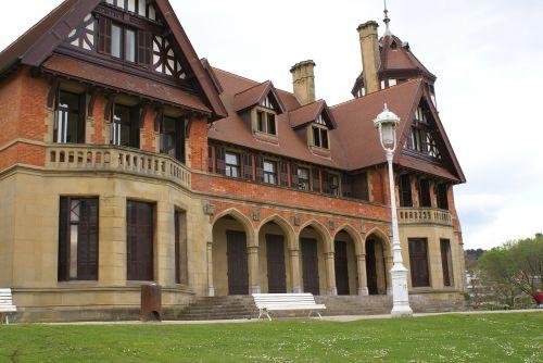 palacio miramar architecture san sebastian