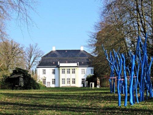 palais  the castle of augustenborg  denmark