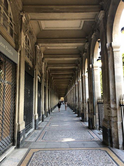 palais royal  paris  haussmann