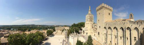 avignon architecture palais du papes