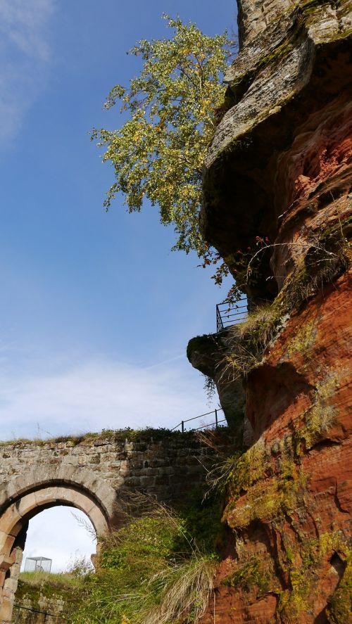 palatinate castle ruin